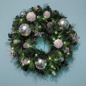 Winter's Frost wreath